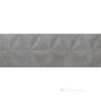 плитка Newker Mirror 25x75 graphite