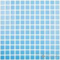 мозаика Vidrepur Colors (107) 31,5x31,5 light sky blue