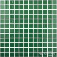 мозаика Vidrepur Colors (602) 31,5x31,5 dark green